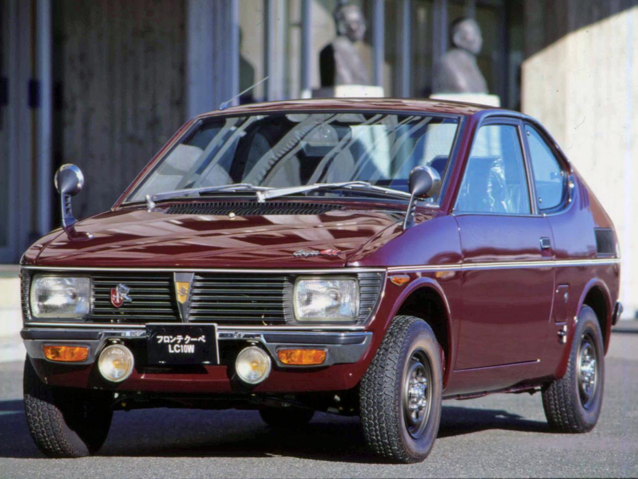 【昭和の名車 37】スズキ フロンテクーペ(昭和46年:1971年)