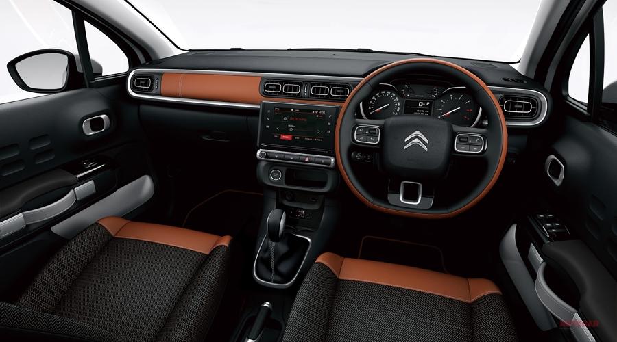シトロエンC3コロラド 価格252万円 テップレザー内装の限定車