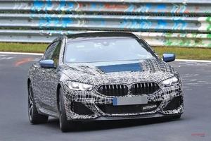 動画 新型BMW 8シリーズ・グランクーペ M850i、ニュル走行シーン