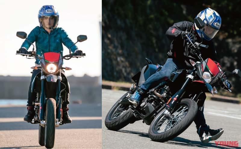30~40万円台で買えるお手軽バイク:アプリリアSX125【125ccに見えない個性的な存在感】