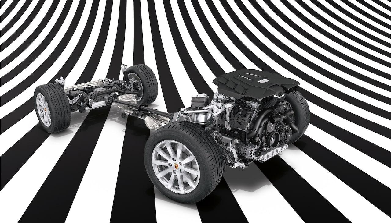 ポルシェ カイエン ターボ S Eハイブリッド、SUVでありながらスポーツカーを凌ぐ革新的なシャシーの秘密