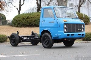 FRが常識のトラックに、FFがあったなんて!