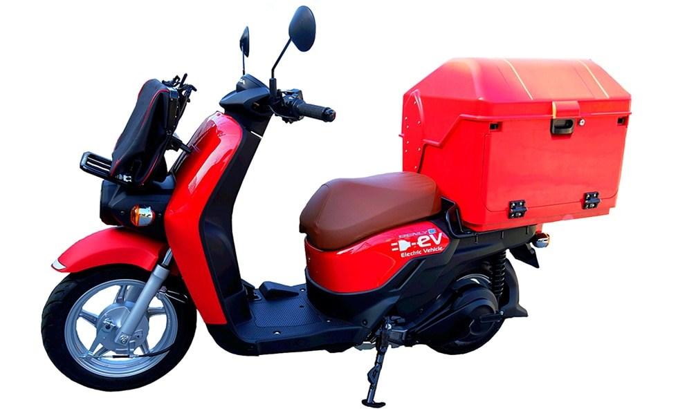 ホンダ、電動バイクを日本郵便に供給。都内で2割を電動化する計画
