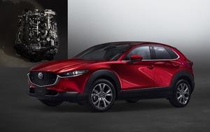 やっと出ました!「CX-30」にSPCCIを採用するスカイアクティブXエンジン搭載車を発売