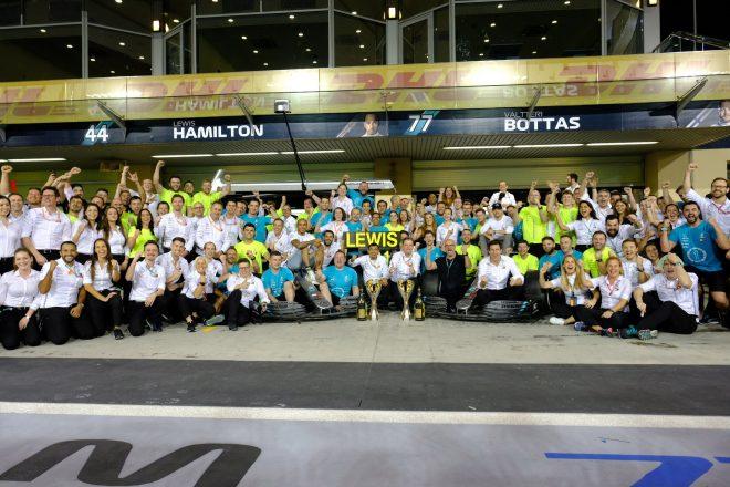 2019年F1チャンピオンのハミルトンとメルセデス、2020年のローレウス賞にノミネート