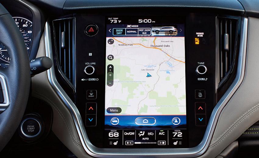 スバル アメリカ市場でトムトム製マップとナビ・システムを採用