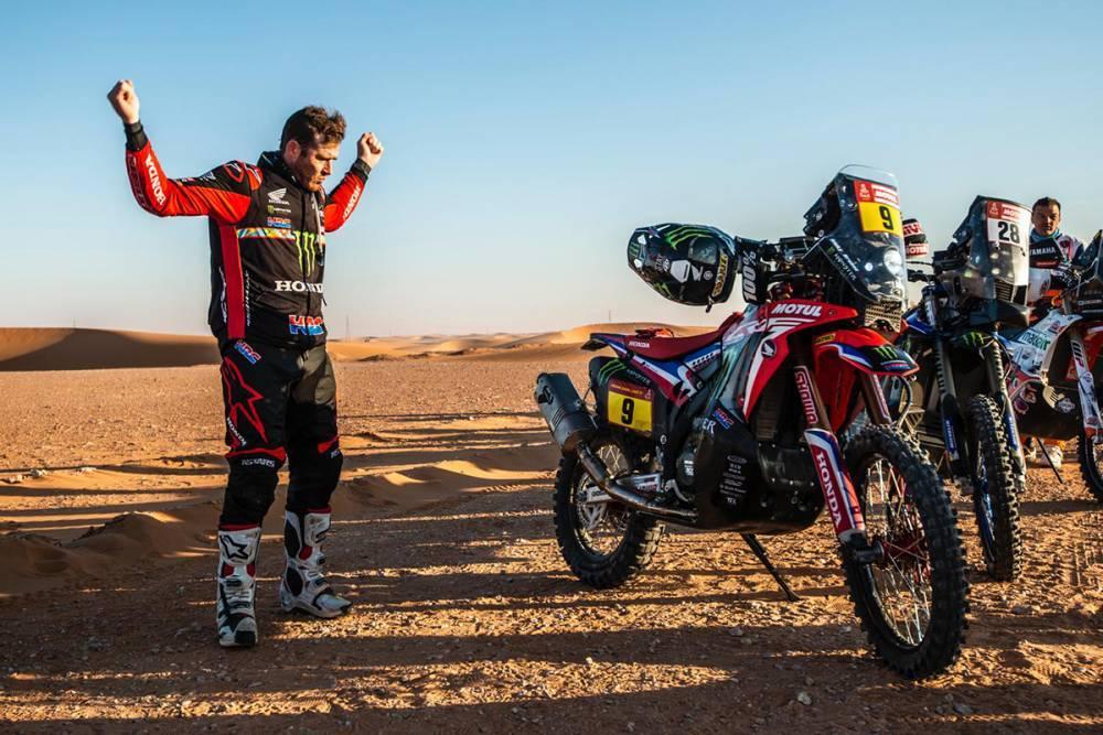 """<結果速報!>ホンダが""""31年ぶり""""のダカール総合優勝!リッキー・ブラベックがKTMの19連覇を阻止!【Dakar Rally 2020】"""