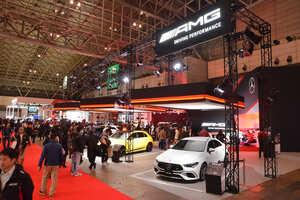 メルセデス・ベンツはAMGとEQ、そしてVクラスの特別仕様車をアピール【東京オートサロン2020】