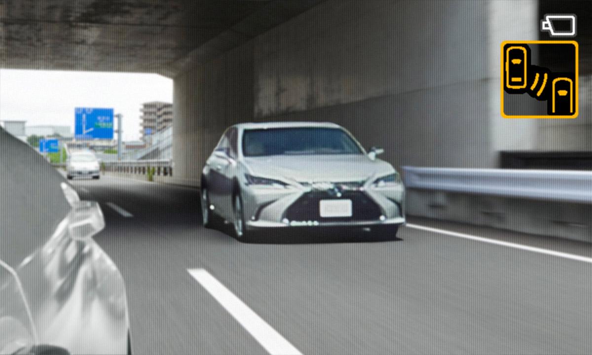 レクサス、デジタルアウターミラーを量産車に世界初採用! 10月下旬発売予定の新型「ES」から