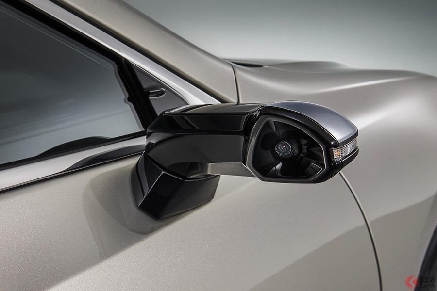 レクサスが世界初採用したドアミラーレス車、普通のミラーと何が違う? すでに課題も!?