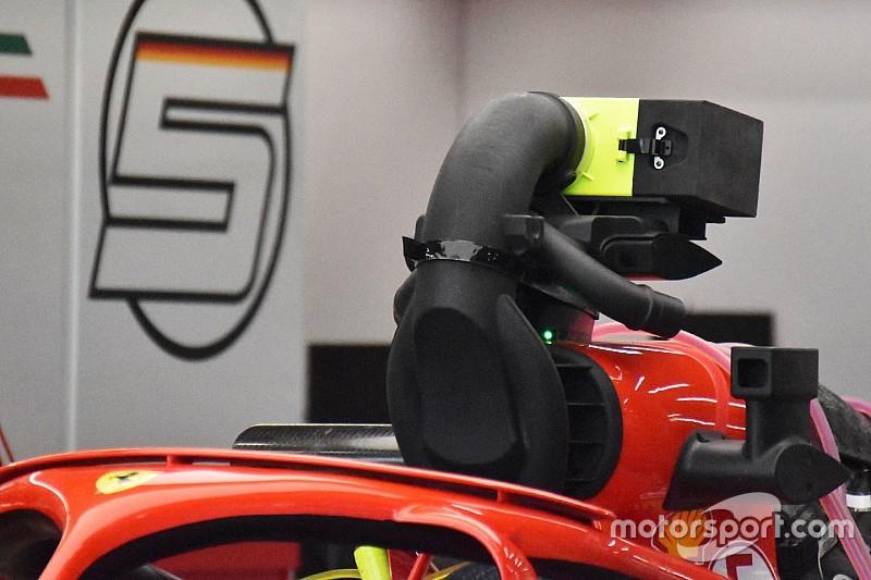 """フェラーリ、シンガポールGPに""""疑惑""""の冷却装置を投入"""
