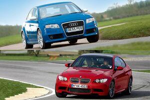 BMW M3 E91 vs アウディRS4 B7 今も人気 新車当時の評価は?