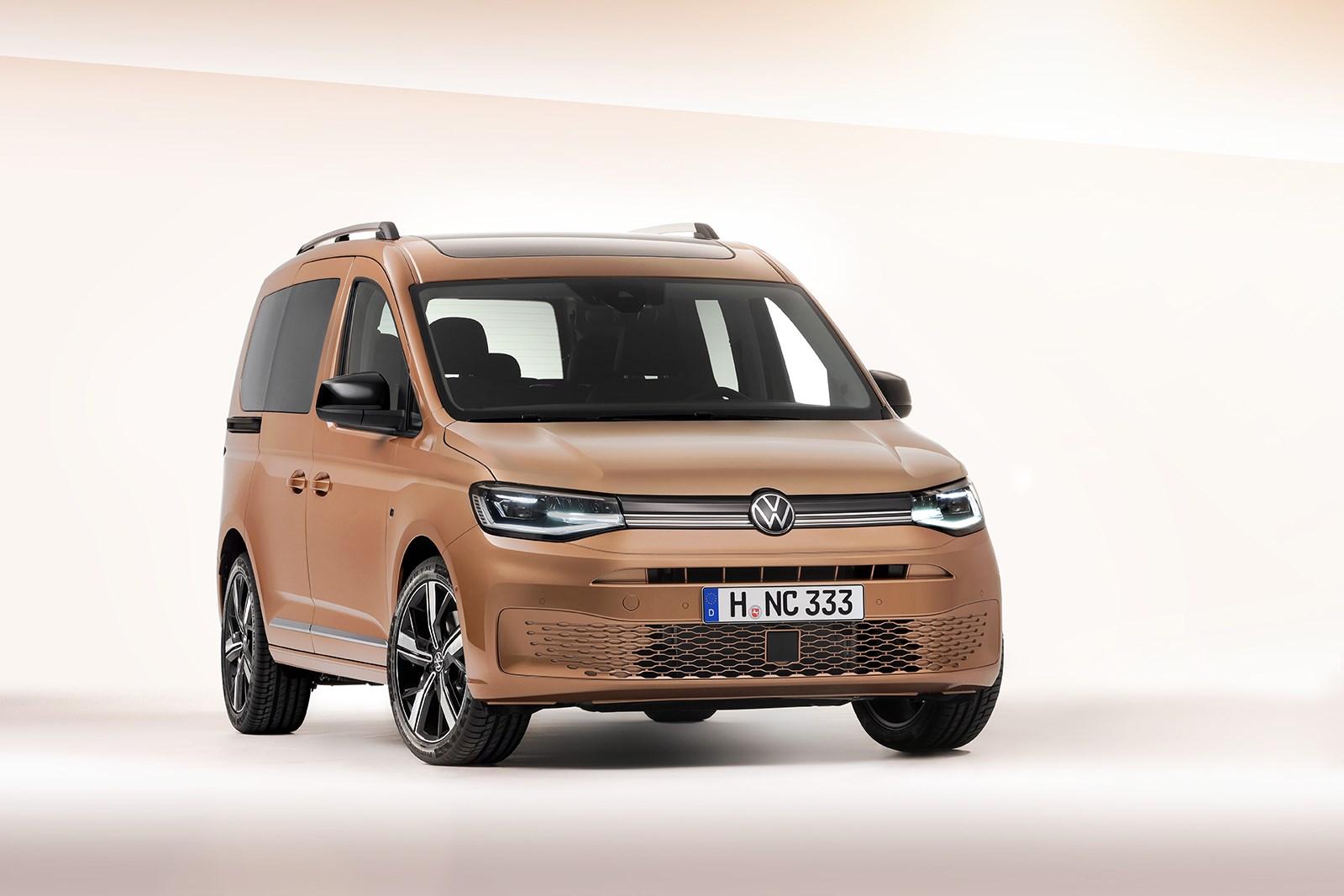 フォルクスワーゲン、商用から日常・趣味用途まで幅広く使える多目的車…新型キャディをワールドプレミア