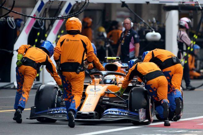 ノリス「ペースは良かったのに、ピットストップの問題で周回遅れに」:マクラーレン F1メキシコGP日曜