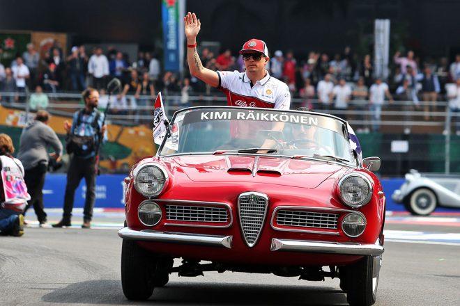 ライコネン「スタートで接触。不運だがレースはこういうこともある」:アルファロメオ F1メキシコGP日曜