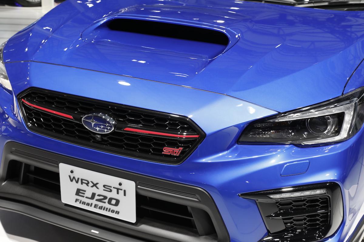 ついにさようなら...EJ20.. スバル WRX EJ20ファイナルエディションが東京モーターショー 2019にて初公開
