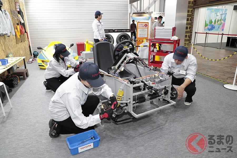 Jujuに続け! 東京モーターショーのキッザニアでレーシングドライバーを体験してみよう!