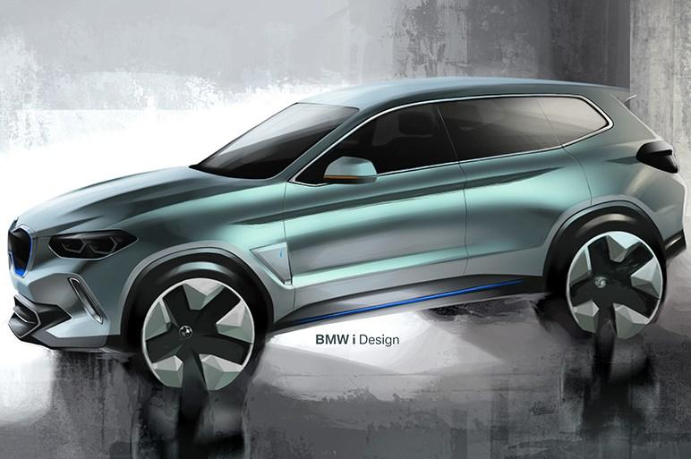 BMW X3のEV化が決定 北京ショーでコンセプトカーが公開