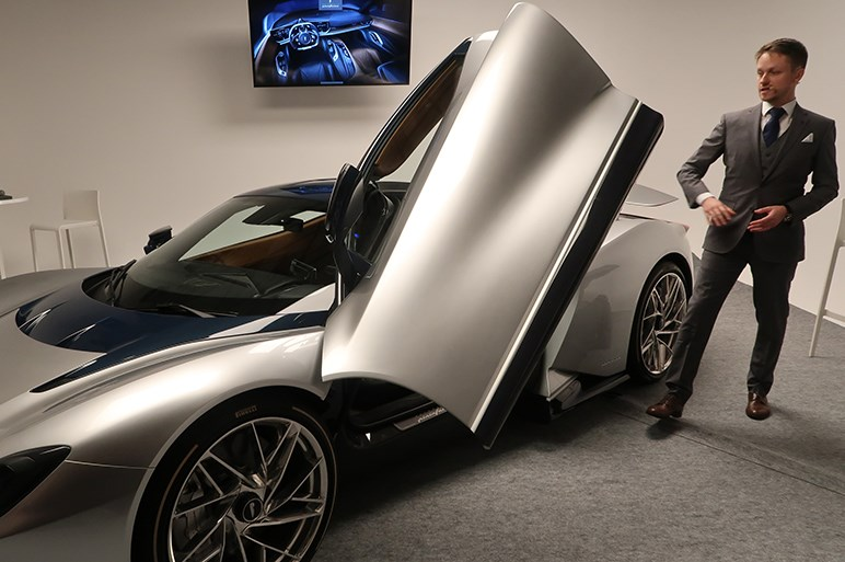 ピニンファリーナのEVハイパーカー・バッティスタが日本公開。2億円超で日本には数台導入か