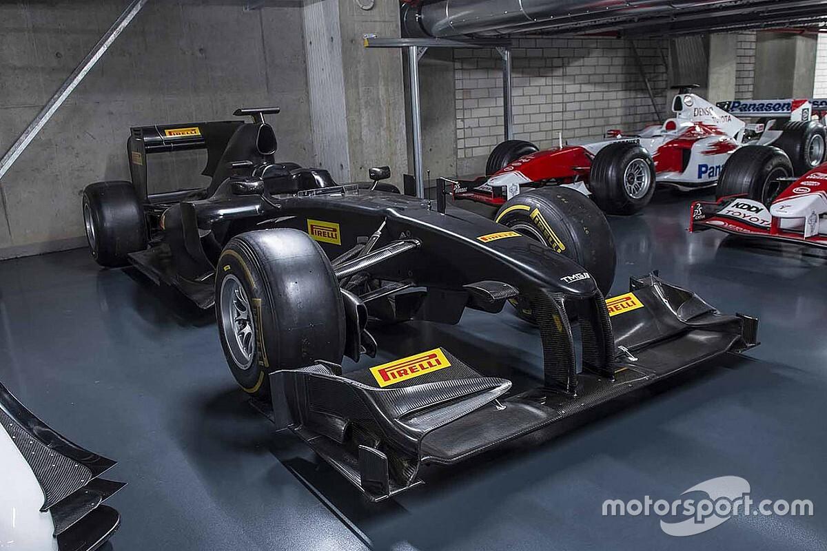 トヨタがF1活動最終年で使用したマシン『TF109-01』がチャリティオークションに出品