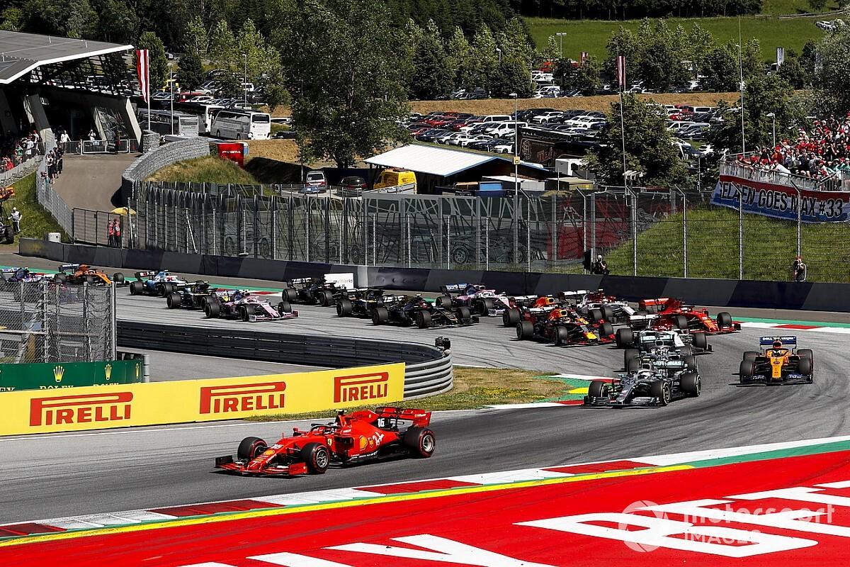 "F1は7月5日オーストリアで開幕。ヨーロッパ開催8戦のカレンダー発表……シルバーストン2戦目は""70周年アニバーサリーGP""に"