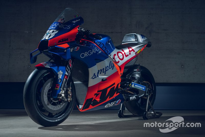 """【MotoGP】KTM&テック3、2020年の新カラー披露。テック3は""""銀色""""光る新デザインに"""