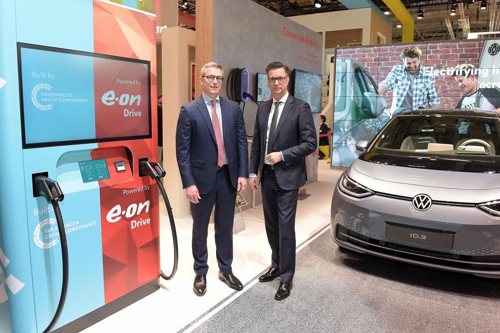 フォルクスワーゲンが欧州での新たな充電インフラを開発