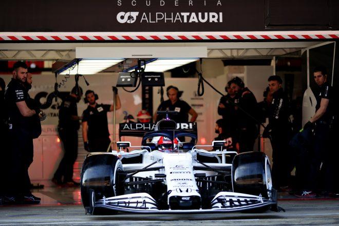 クビアト、新アルファタウリ・ホンダF1のテスト初日に満足も「パフォーマンス向上の度合いはまだ判断できない」
