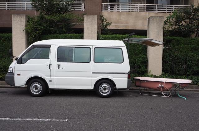 中古99万円~!お風呂付きの「入浴車」は、マイカーとして購入できる?