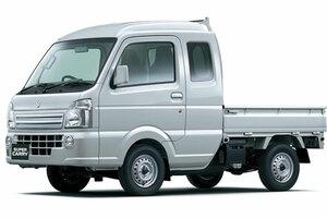 スズキ ゆとりある室内空間の新型軽トラック「スーパーキャリイ」発売