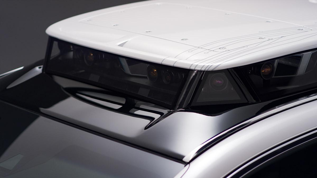 【CES2019】トヨタ子会社がレクサス「LS」ベースの新型自動運転実験車を公開