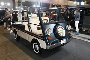 初代ホンダ・バモスで昭和40年代のビーチカーを再現 - 東京オートサロン