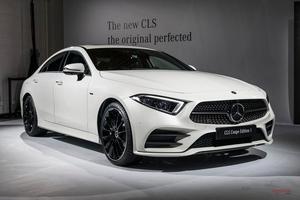 新型M・ベンツCLS 4ドア・クーペのみに CLS53も登場 LAショー実車画像