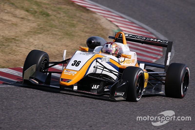 鈴鹿で全日本F3の合同テストがスタート、初日は宮田莉朋がトップタイム