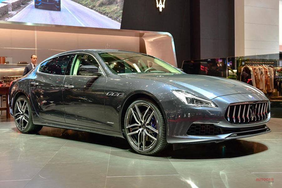 マセラティ、新型車なく 「イタリアらしさ」強調 ジュネーブショー