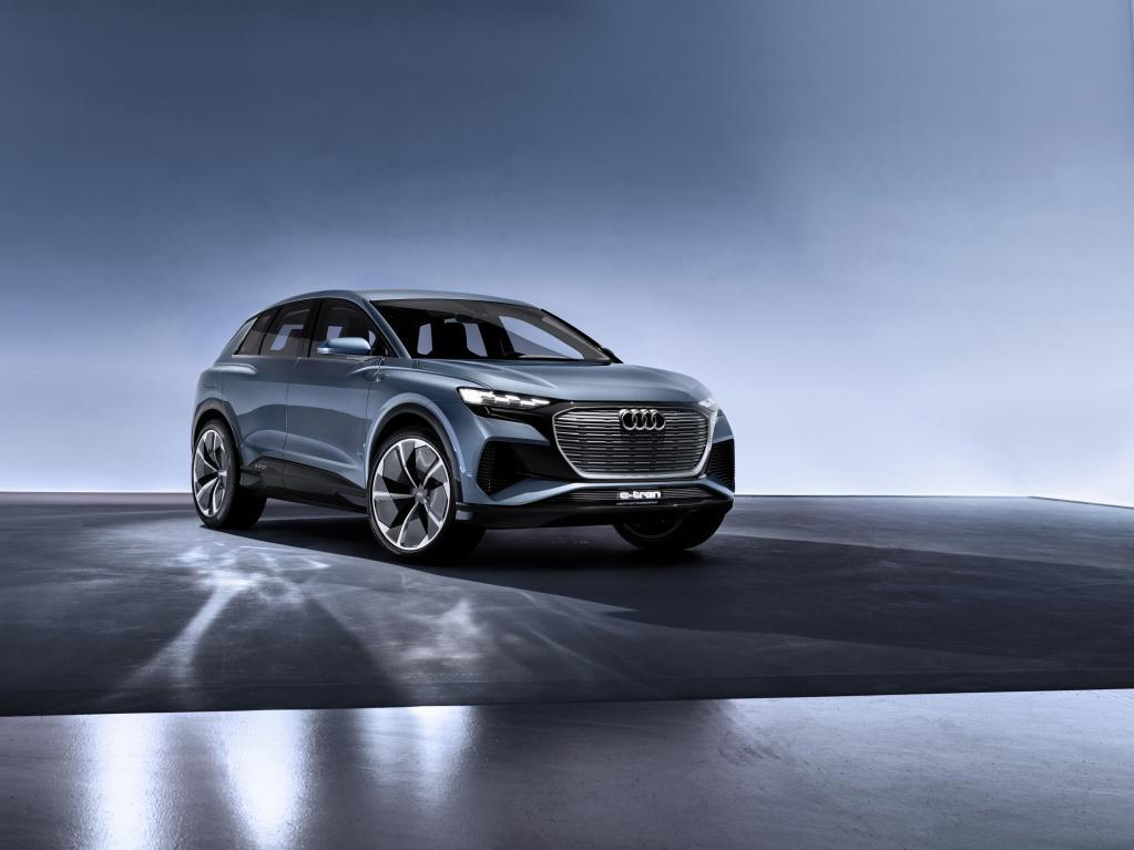 アウディの新EVコンセプト、Q4 e-tronが登場【ジュネーブ・ショー2019】