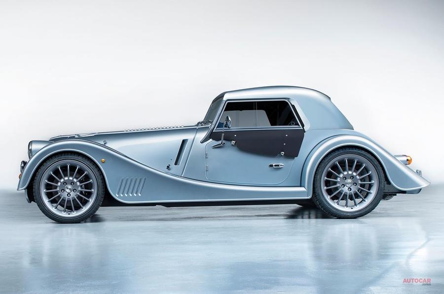 モーガン 19年ぶりの新型車 新開発アルミシャシー採用 ジュネーブ