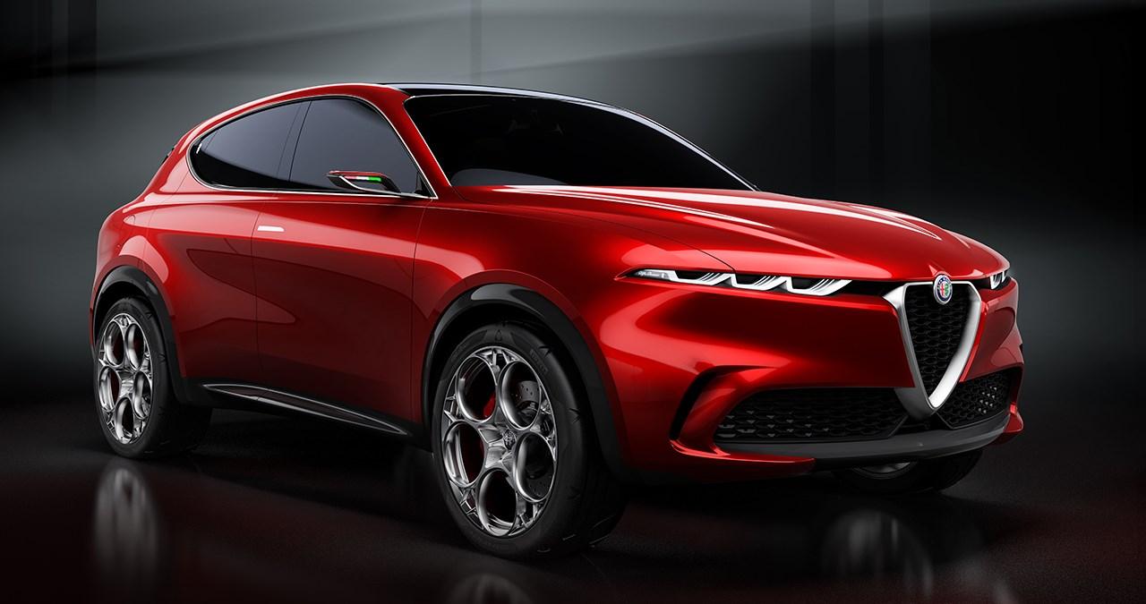 ステルヴィオに弟分、アルファロメオが新型SUVコンセプト「トナーレ」を初公開