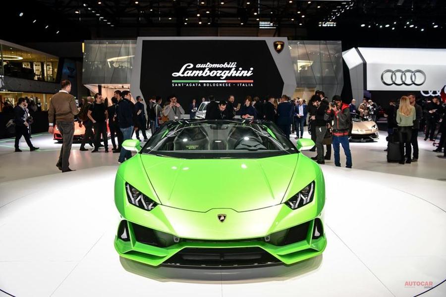 ランボルギーニ・ウラカン・エボ・スパイダー 日本価格も発表 ジュネーブショー