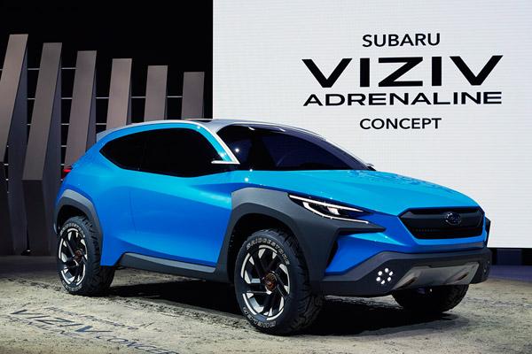 【ジュネーブモーターショー2019】スバル、次期型「XV」か? 「ヴィジヴ アドレナリン コンセプト」初公開