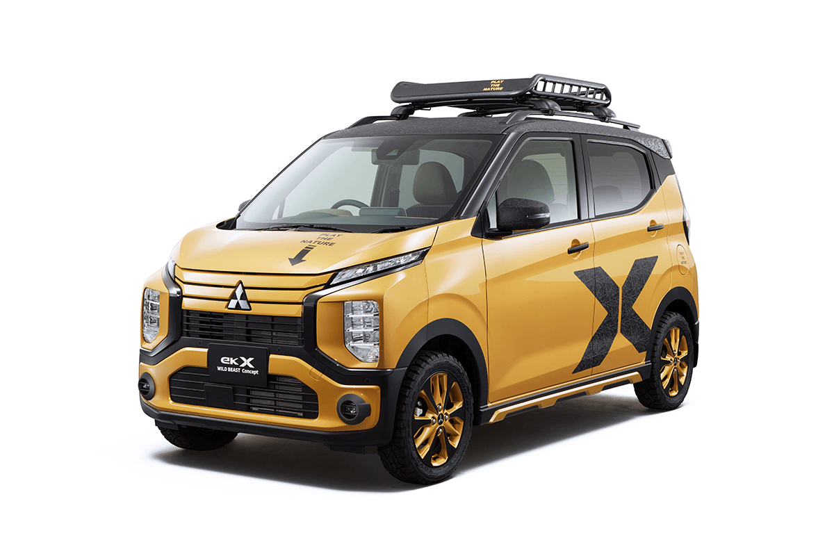 新型軽スーパーハイトワゴンを展示! 三菱の東京オートサロン出展車はSUVが中心