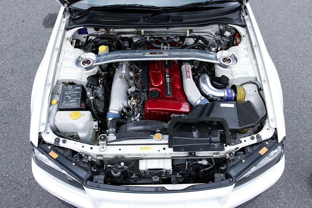 「カンサイサービスの技術力が注がれた至極のBNR34」2.8L+小径ツインターボで超レスポンスの560馬力を創出!
