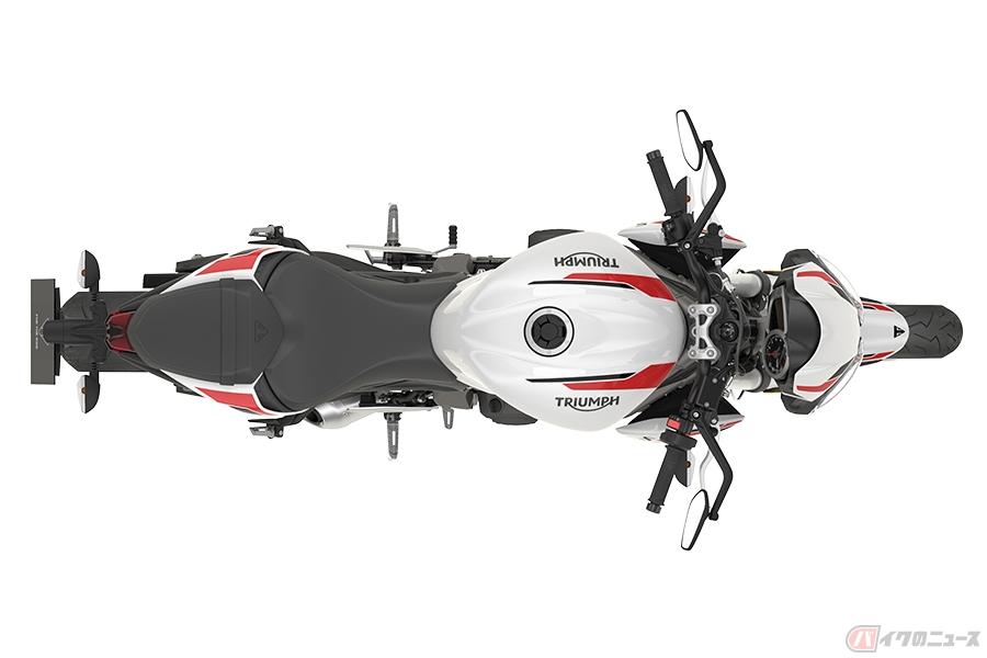 並列3気筒エンジンを搭載するスポーツネイキッド トライアンフ新型「ストリートトリプルS」新登場