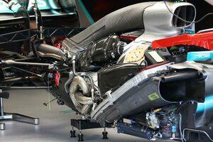 F1技術解説レビュー メルセデス:オフシーズンテストから積極的にアップデート。酷暑レース以外で驚異的な強さを発揮