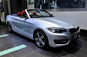 BMW 2シリーズにスタイル自慢のカブリオレが追加
