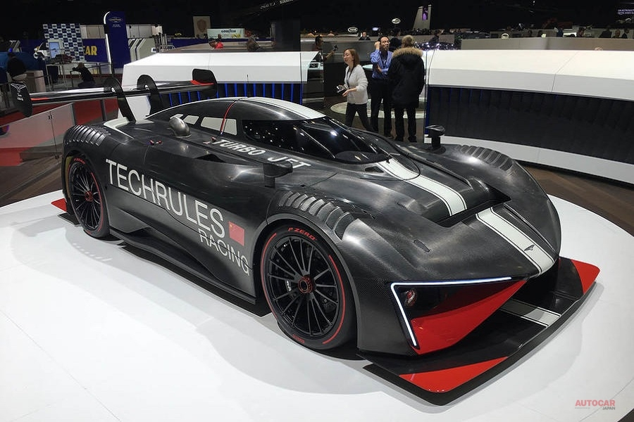 テックルールズ・レンRS 1305psのサーキット専用スーパーカー