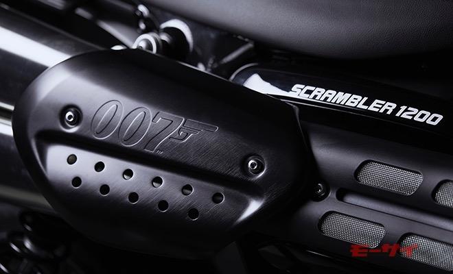 映画「007」にトライアンフが登場! それを記念したスクランブラーの特別仕様車が発売決定!!