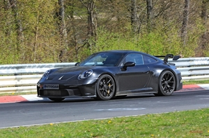 【自然吸気フラット6】サウンドが聞こえた! 動画 ポルシェ911 GT3 ニュルで走行テスト