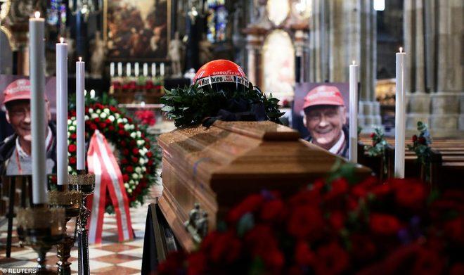 F1レジェンド、ニキ・ラウダに家族と友人たちが最後の別れ。ウィーンで葬儀営まれる