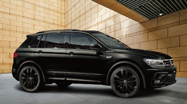 VWティグアンに特別仕様車「R-Line Black Style DYNAUDIO Package」を新設定